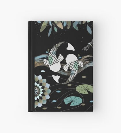 Lucky Koi Mandala Hardcover Journal
