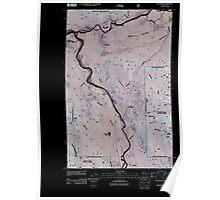 USGS Topo Map Washington State WA Rockport 20110425 TM Inverted Poster