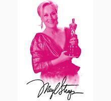 Meryl Streep with her third oscar Unisex T-Shirt