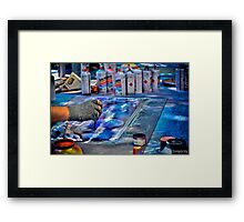 Creating Image Framed Print