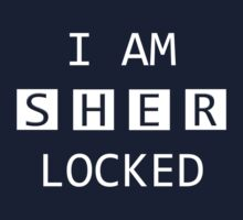 I Am SHER Locked Kids Clothes
