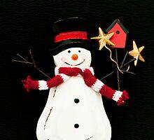Snowman by Anne Gilbert