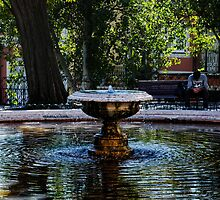 fountain of dispair, Lisbon, Portugal by Andrew Jones