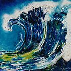 The wave&#x27;s power 2 by  Pauline Wherrell
