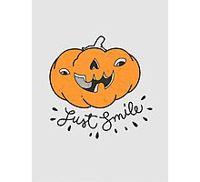 Just Smile! Photographic Print