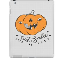 Just Smile! iPad Case/Skin