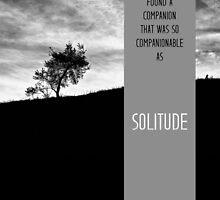 Henry David Thoreau - Solitude by schwebewesen