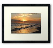 Serene Sunset at Kiawah Island Framed Print