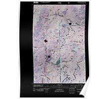 USGS Topo Map Washington State WA Leadpoint 20110428 TM Inverted Poster