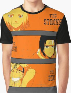 The Strong The Angry The Hero Graphic T-Shirt