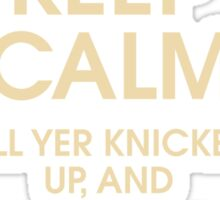 Keep Calm... Sticker