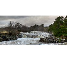Low Force in Spate Photographic Print