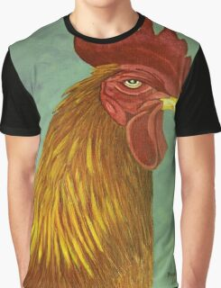 Rooster portrait Graphic T-Shirt