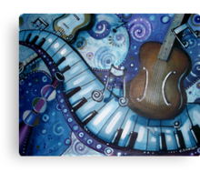 Rhapsody in Blue Canvas Print