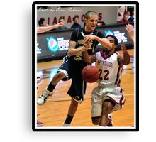 Purdue North Central vs UIndy 3 Canvas Print