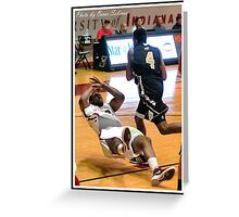 Purdue North Central vs UIndy 8 Greeting Card