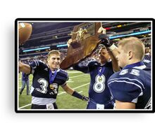 Class 1A Lafayette Central Catholic vs Indianapolis Scecina 10 Canvas Print