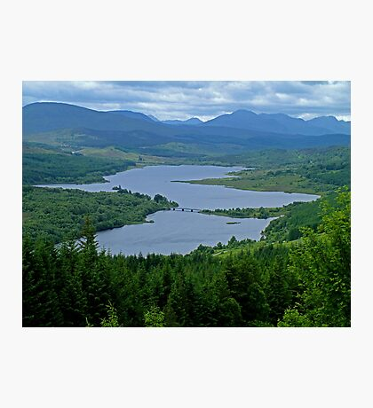 Loch Garry Photographic Print