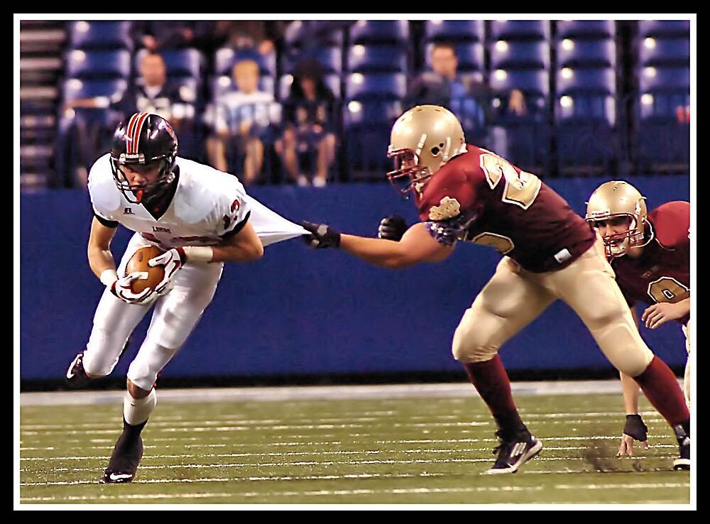 Class 2A Ft Wayne Luers vs Evansville Mater Del 6 by Oscar Salinas