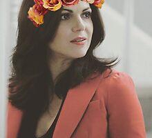 Regina flower crown  by Sophie Tucker