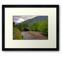 Newton Bridge Framed Print