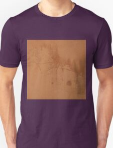 Brown rusty abstract background   T-Shirt