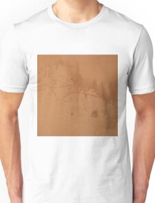 Brown rusty abstract background   Unisex T-Shirt