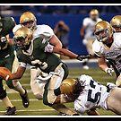 Class 4A Cathedral vs South Bend Washington 3 by Oscar Salinas