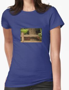 Rail Fence Womens Fitted T-Shirt