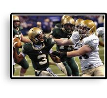 Class 4A Cathedral vs South Bend Washington 5 Canvas Print