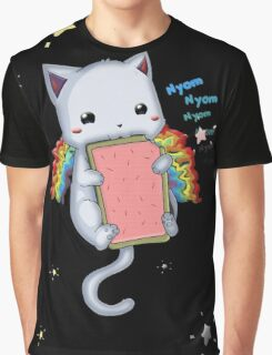 Nyom Cat Graphic T-Shirt