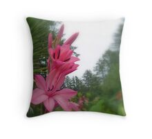 Flower series Throw Pillow