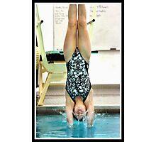 Center Grove vs Carmal Swimming 1 Photographic Print