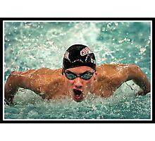 Center Grove vs Carmal Swimming 2 Photographic Print