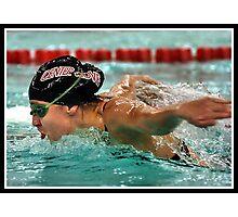 Center Grove vs Carmal Swimming 5 Photographic Print