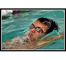 Center Grove vs Carmal Swimming 7 Photographic Print