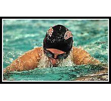 Center Grove vs Carmal Swimming 8 Photographic Print
