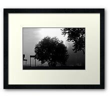 A melancholic landscape: Photo by  Brown Sugar. Views (22) tvm! Framed Print