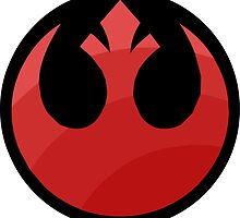 Star Wars - Rebel Alliance Logo by Sevensus
