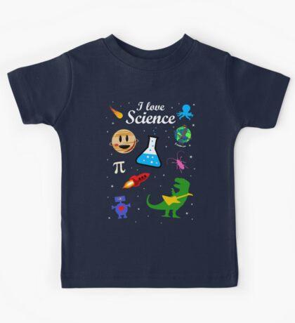 I Love Science Kids Tee