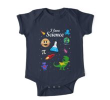 I Love Science One Piece - Short Sleeve