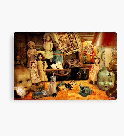 Doll Hospital Canvas Print