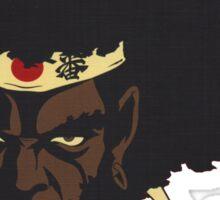 Afro Samurai anime series Sticker