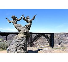 The I.B. Perrine Bridge-Twins-Twin Falls, Idaho; USA Photographic Print