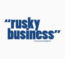 'rusky business' Kids Tee