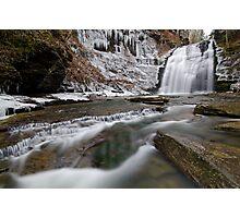 Rexford Falls - December - 2011 Photographic Print