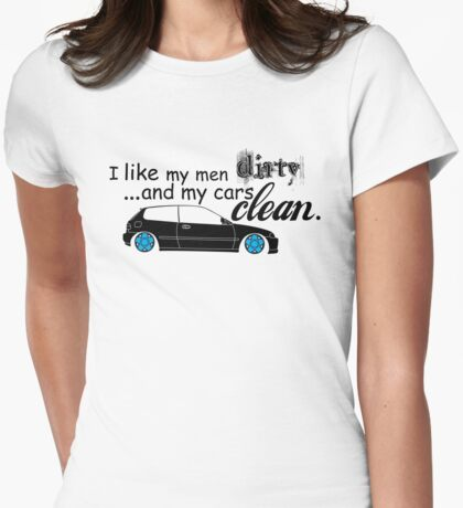 I like... Womens Fitted T-Shirt