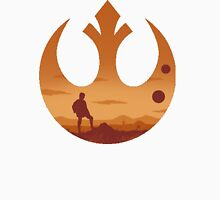 Star Wars - Rebel Alliance Logo II (Luke on Tatooine) T-Shirt