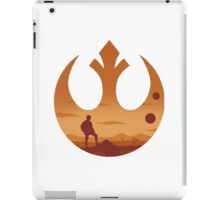 Star Wars - Rebel Alliance Logo II (Luke on Tatooine) iPad Case/Skin