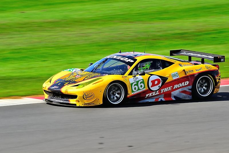 JMW Ferrari F458 No 66 by Willie Jackson